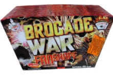 Brocade War Fanned - 49 shot barrage