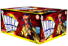 Indian Scream - 100 shot display barrage