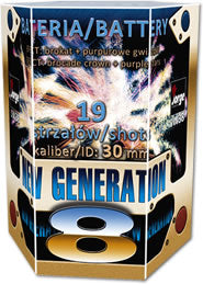 New Generation 8 - 19 shot Display 1.3G Barrage - BUY 1 GET 1 FREE
