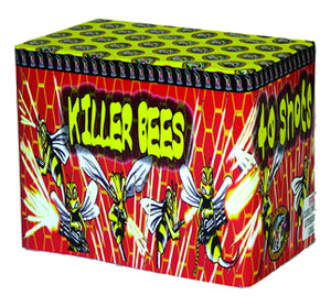 Killer Bees - 40 shot barrage