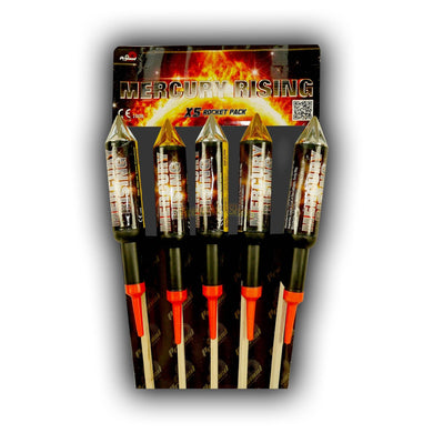 Mercury Rising Original (Double Burst) - Pack of 5 (IN STORE ONLY)