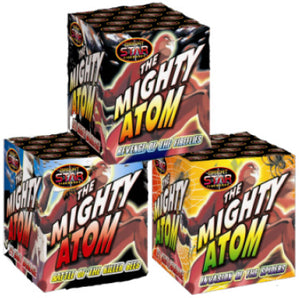 Mighty Atom - Set of 3 x 24 shot barrages