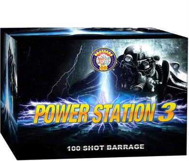 Powerstation 3 - 100 shot display finale barrage