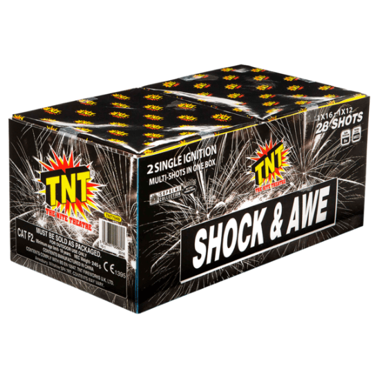 Shock & Awe (Set of 2 Barrages) - BUY 1 SET GET 1 SET FREE