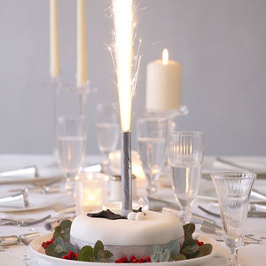48 x Ice Fountains Cake Candles 12cm - 60 seconds burn time (FREE DELIVERY)