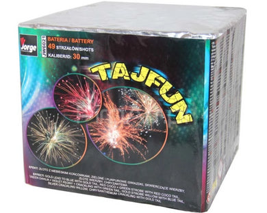 Tajfun - 49 shot Pro Display Barrage