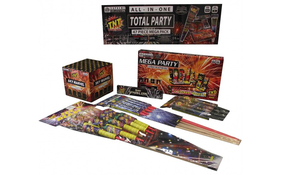 Total Party (47 piece Mega Assorted Box)