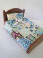 Double Bedspreads  Multi-colored Blue