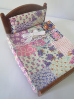 Double Bedspreads Multi-Colored Retro Vintage Style Pink