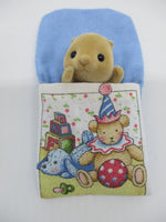 Sleeping Bags Blue Rag Dog and Clown Teddy bear