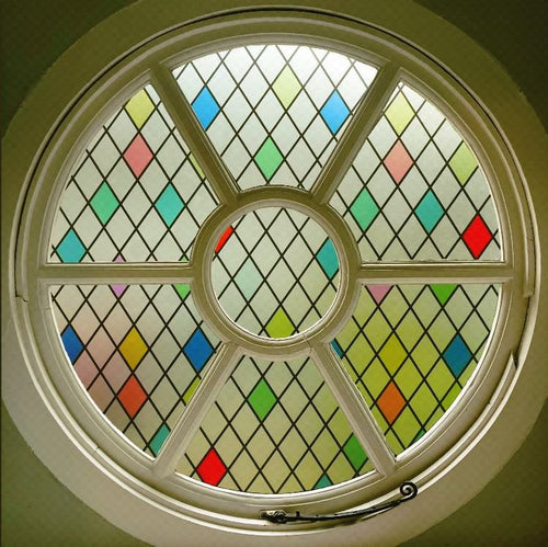 Stained Glass Harlequin