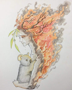 Australia's Bushfires: a Catalyst for Change & Awakening the Feminine - Nature's Magick