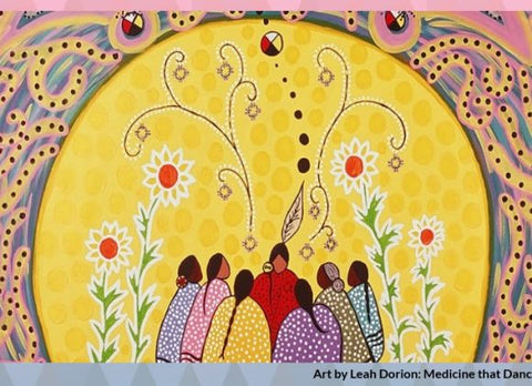 Indigenous women circle