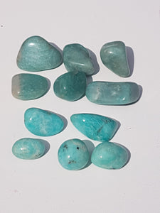 Tumbled stone - Amazonite from Russia and China