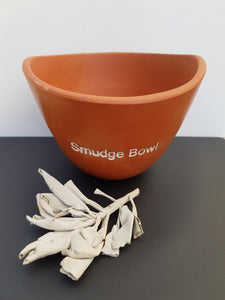 Smudge Bowl for Smudging and Sage burning
