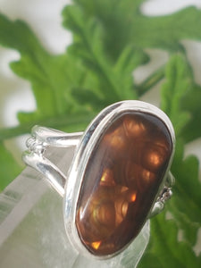 Fire Agate ring s.7