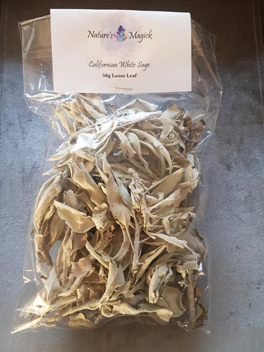 Californian White Sage - Loose Leaf