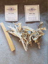 Energy Clearing Sample Pack - White Sage and Palo Santo