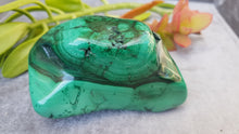 Malachite polished freeform A grade 420g