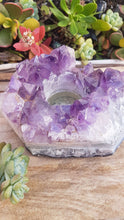 Amethyst Tealight Candle Holder - Nature's Magick