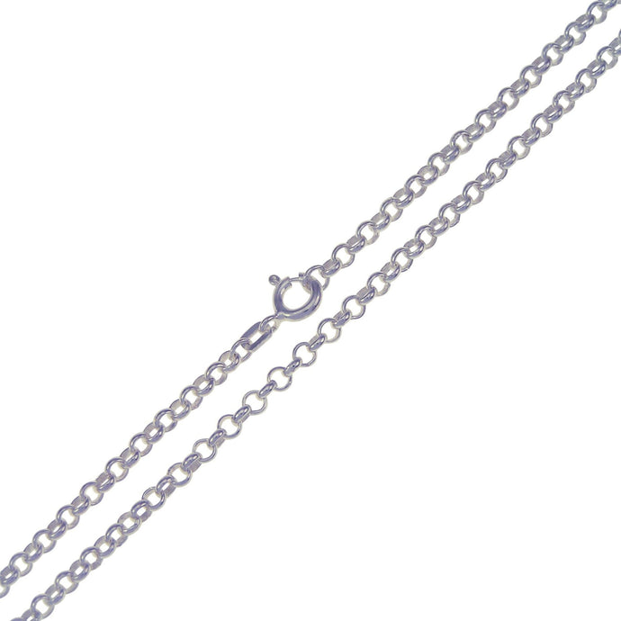 .935 Sterling Silver Belcher Chain 3mm