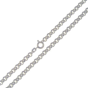 .935 Sterling Silver Belcher Chain 4mm