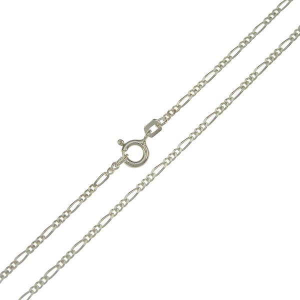 .935 Sterling Silver Figaro Chain 1.5mm - Nature's Magick