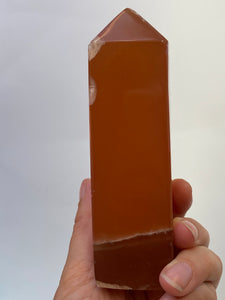 Honey Calcite Obelisk 460g PC53