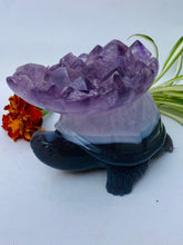 Amethyst Turtle Carving  C593