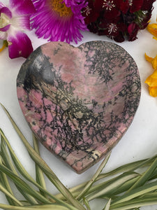 Rhodonite Heart Bowl