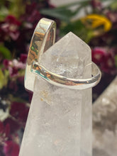 Maligano jasper large oval ring with simple band s8