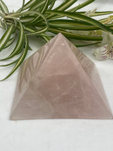 Rose Quartz Pyramid 355g