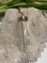 Spodumene/ Kunzite Natural Crystal Pendants