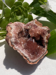 Pink Amethyst Geode, from Argentina. 90g