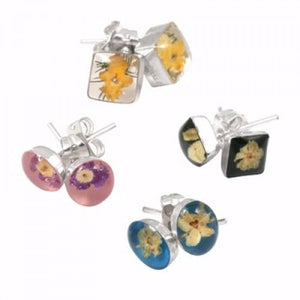 Blue Turtles Wildflowers Collection - Wildflower Stud Earrings