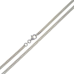 .935 Sterling Silver Curb Chain 3mm - Nature's Magick