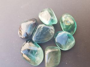 Tumbled Stone - Blue Fluorite - Nature's Magick