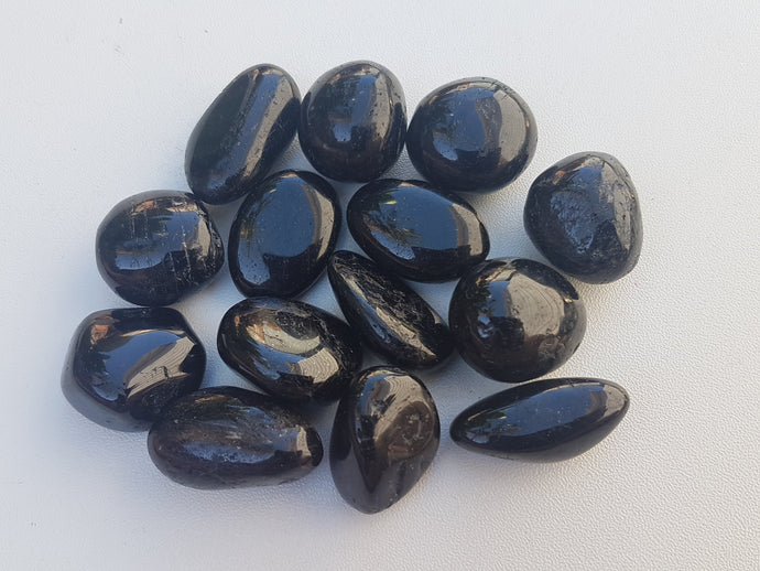 Tumbled Stone - Black Tourmaline