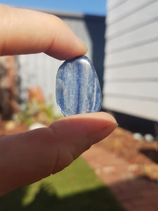 Tumbled Stone - Blue Kyanite gemmy A grade