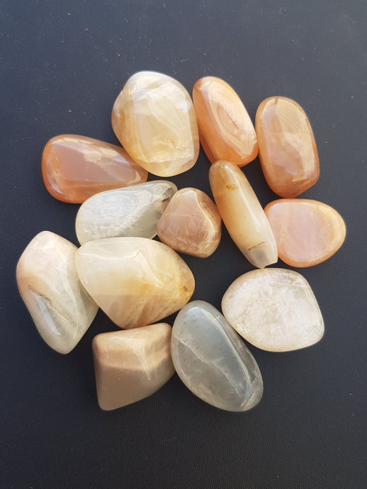 Tumbled Stone - Coloured Moonstone
