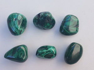 Tumbled Stone - Malachite A grade quality - Nature's Magick