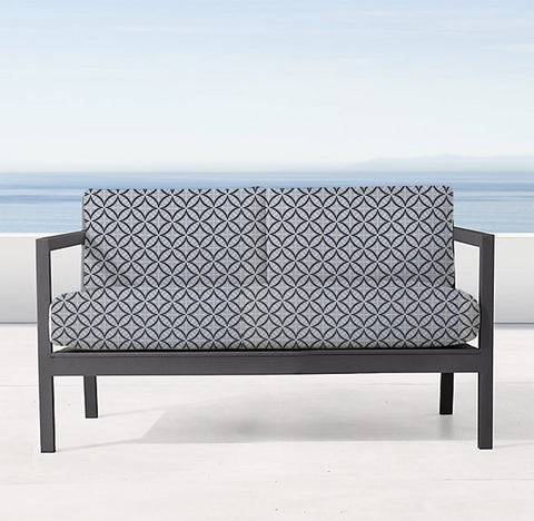 Pleasant Custom Two Seater Sofa Cover Any Warwick Fabric Gmtry Best Dining Table And Chair Ideas Images Gmtryco
