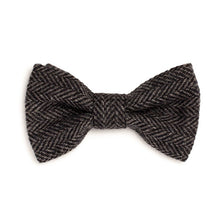 Donegal Tweed Bow Tie - Charcoal