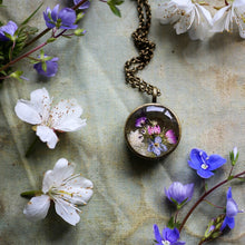Wildflower locket