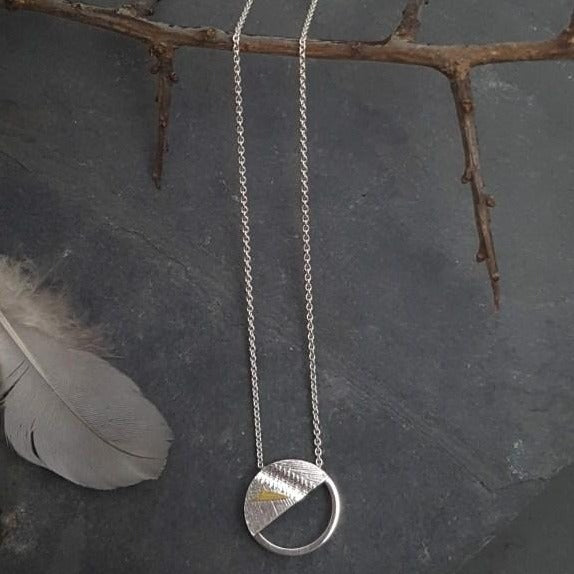 Birds of a Feather Necklace by Sandra Hartwieg