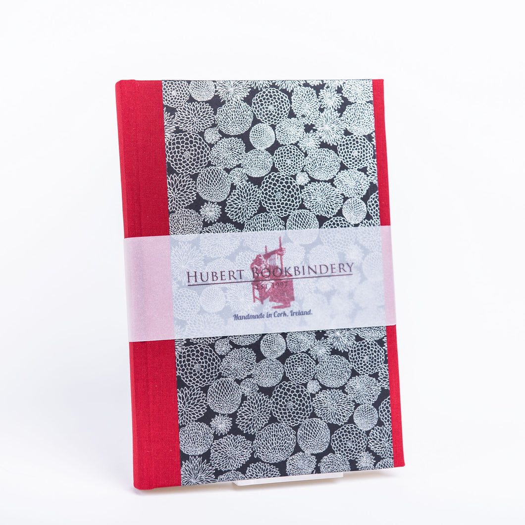 Chiyogami Notebook - Moonlight Foliage