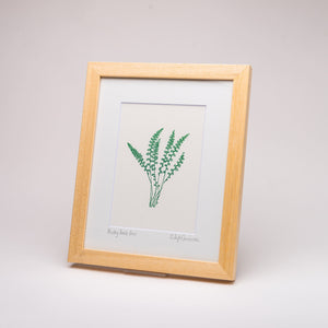 Rusty back Fern Print