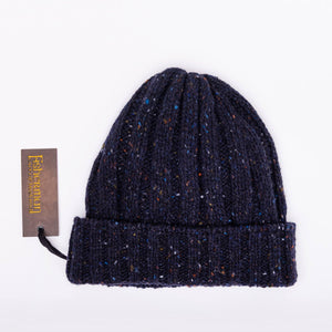 Chunky ribbed hat, Navy
