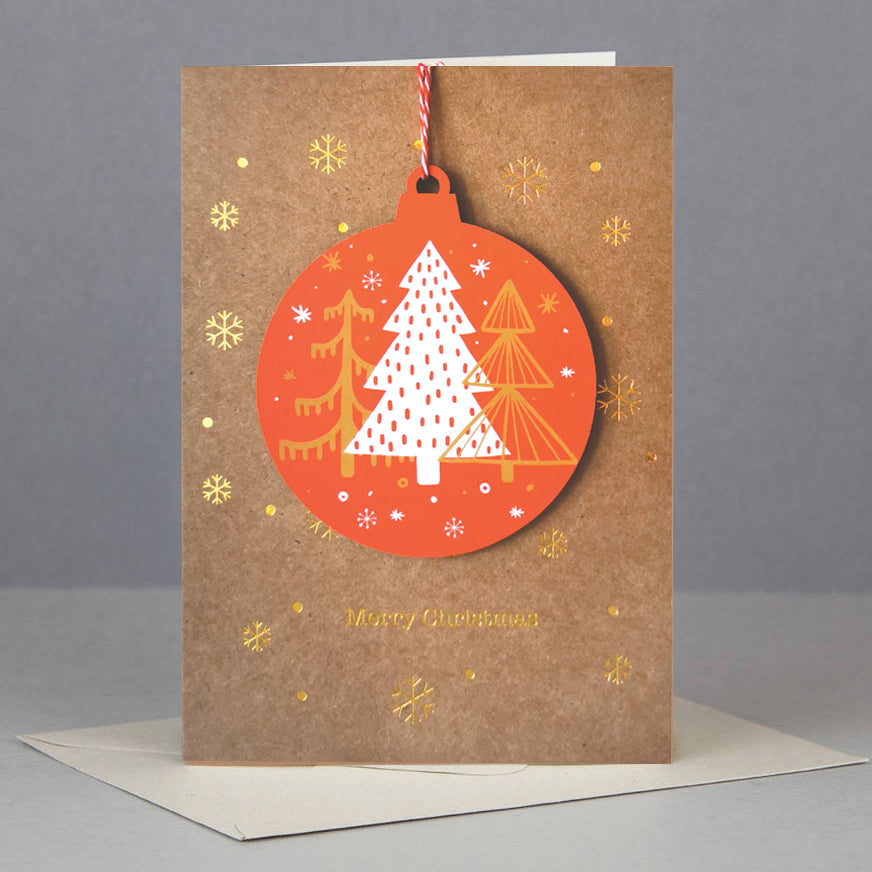 Christmas Tree Decoration Card