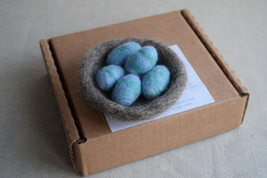 Needle Felt Kit -  Bird's Nest